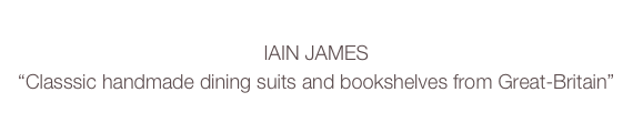 IAIN JAMES